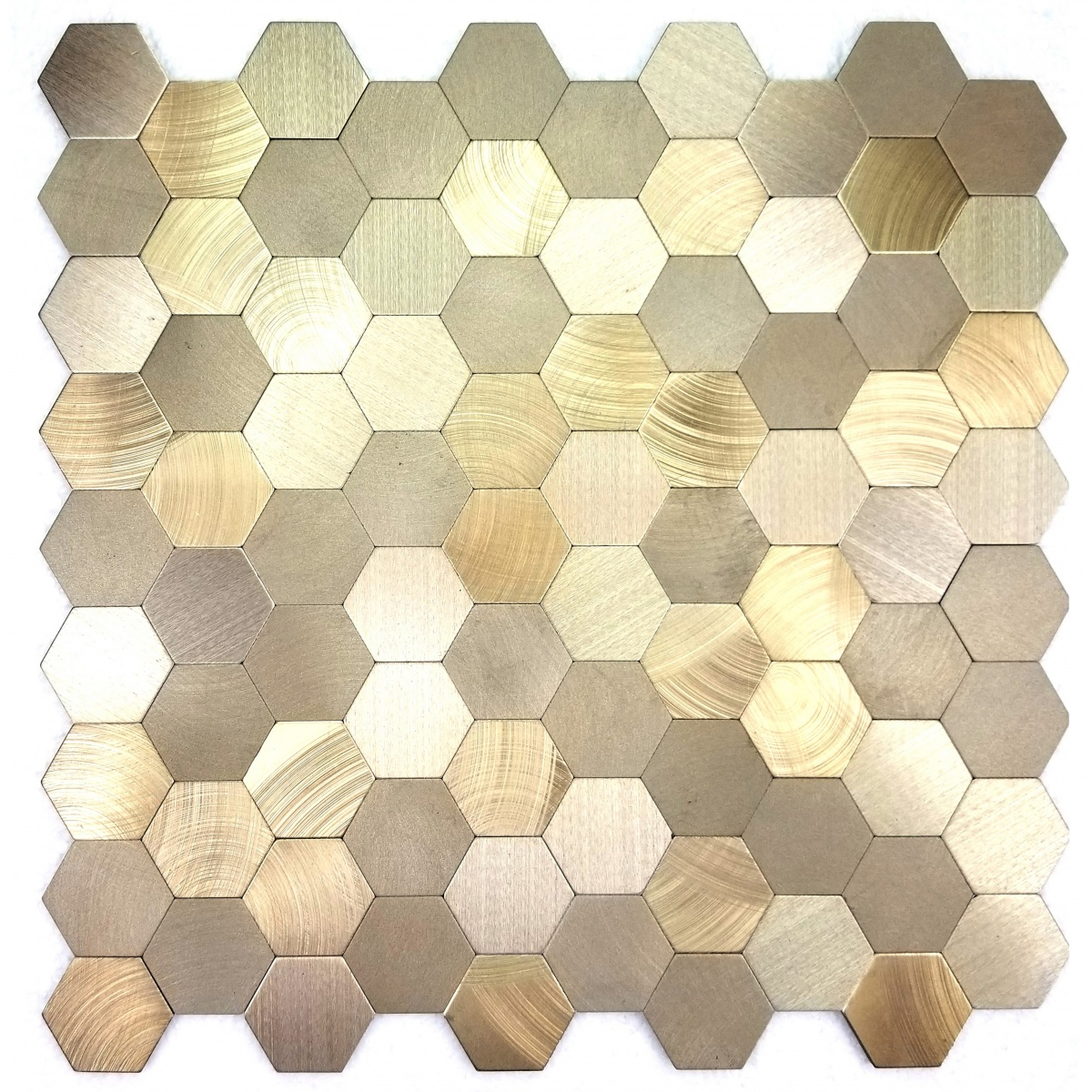Enchanted Metals 1 3125 In X 1 3125 In Aluminum Hexagon