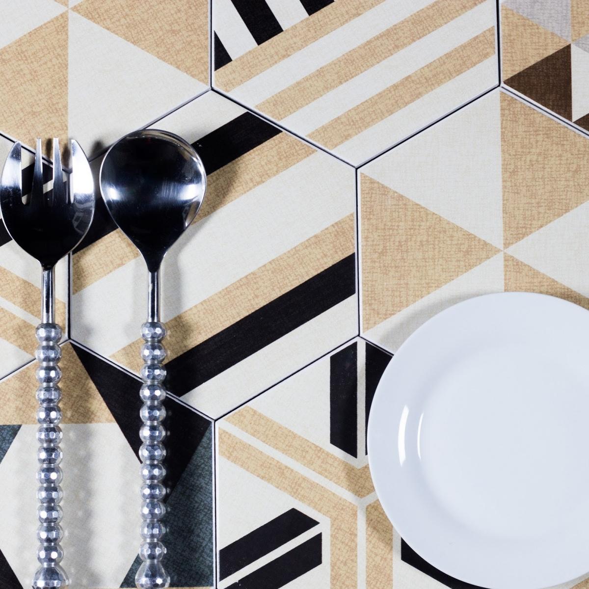 Fabrica 8 x 8 ceramic hexagon beige delight dailygadgetfo Choice Image