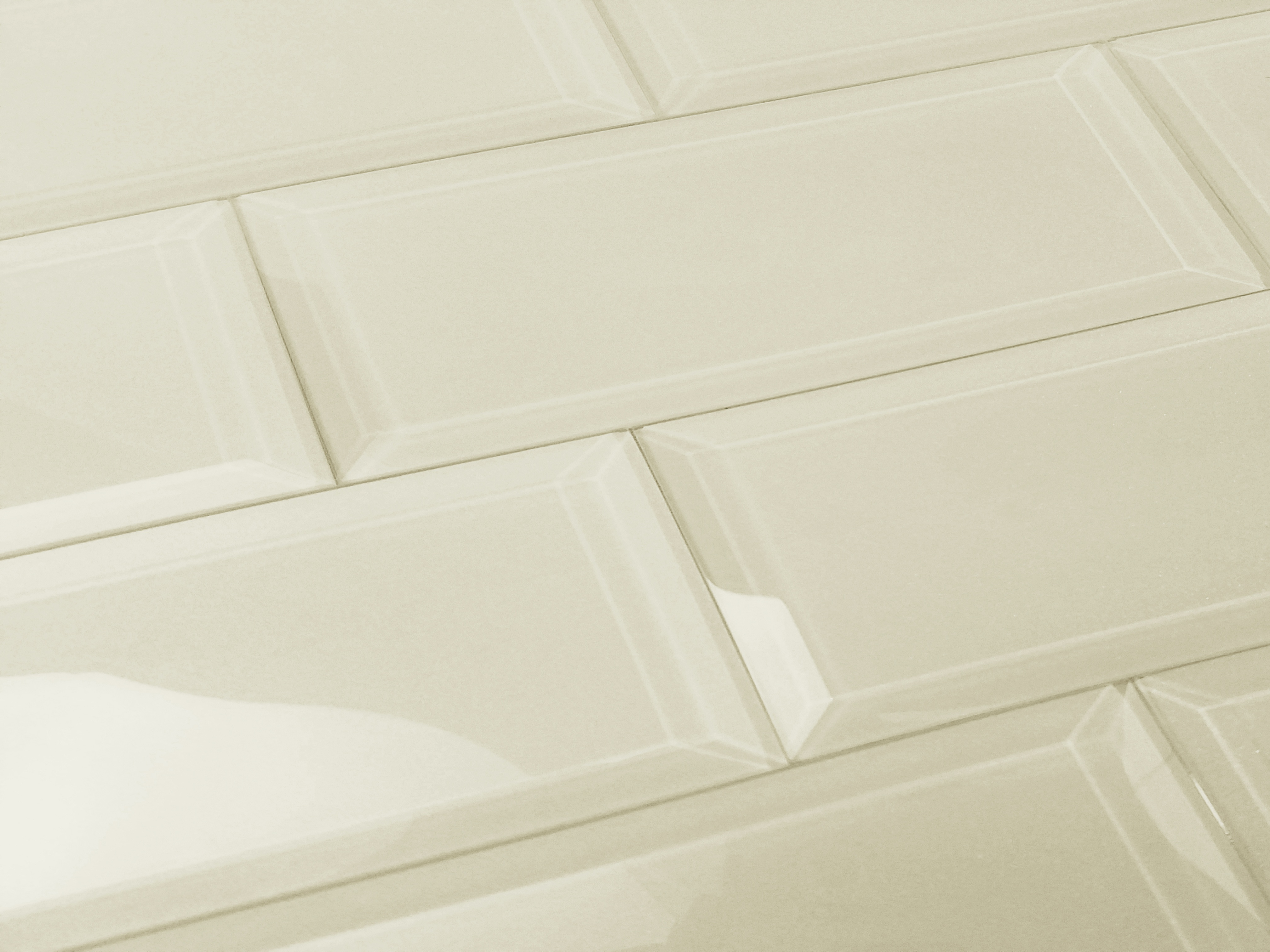 Frosted Elegance 3 in x 12 in Glass Subway Tile in CECILLIA Glossy