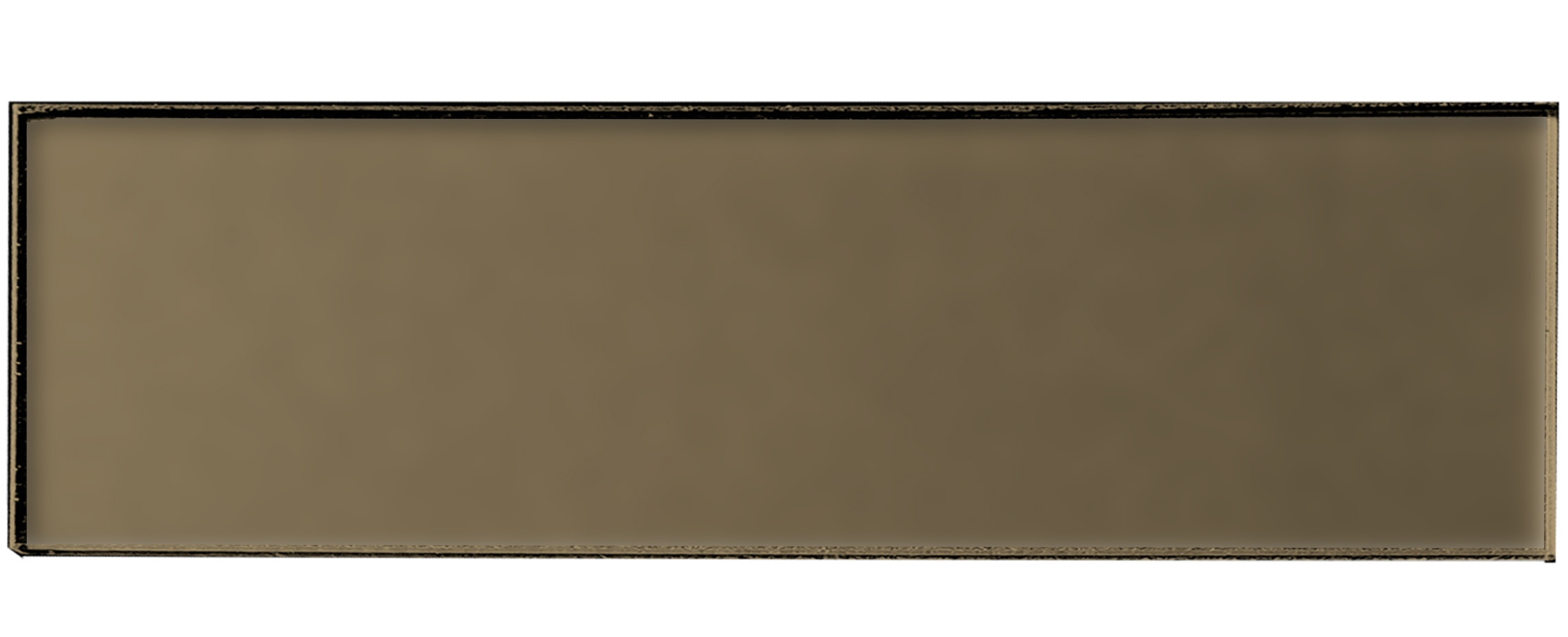 Forever 4 in x 16 in Glass Subway Tile in ETERNAL BRONZE Matte