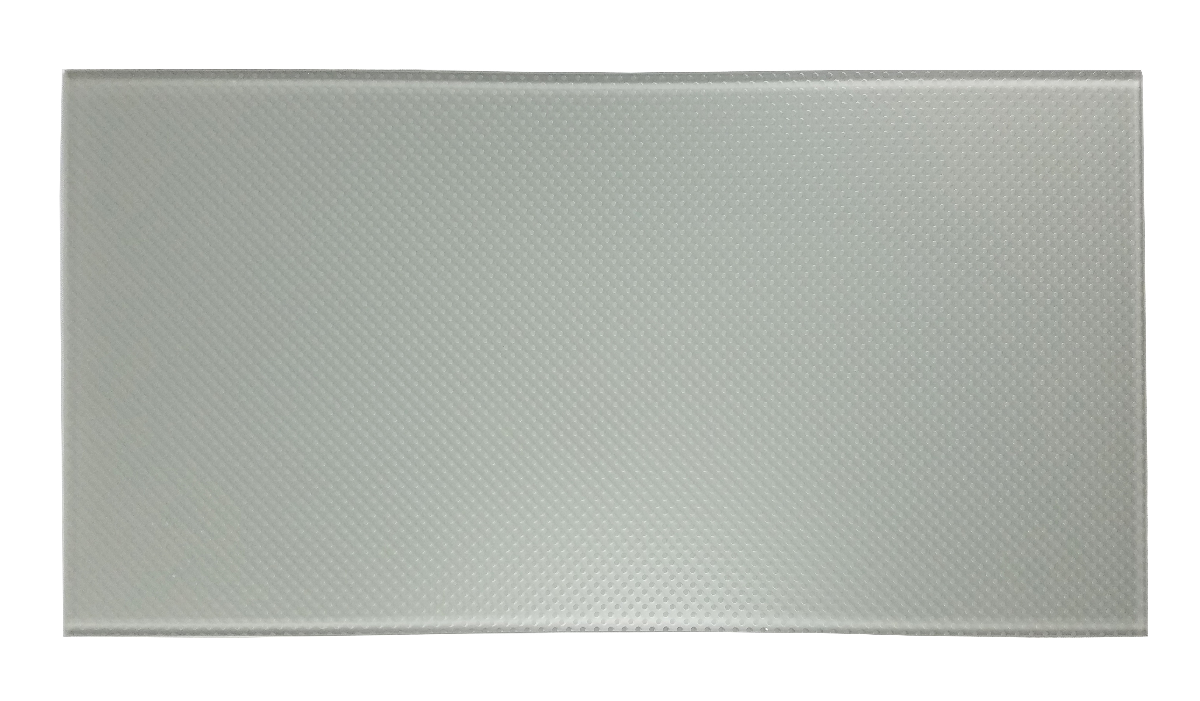 "Particles 12"" x 24"" Slip Resistant Gray Glass Field Backsplash Wall & Floor Tile"
